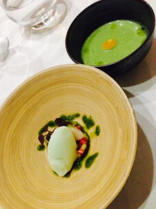Amuse bouche green